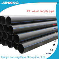 solid wall high density polyethylene (HDPE) pipe with smooth internal surface