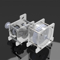 Custom top quality small speed-up gearbox for wind turbine generator