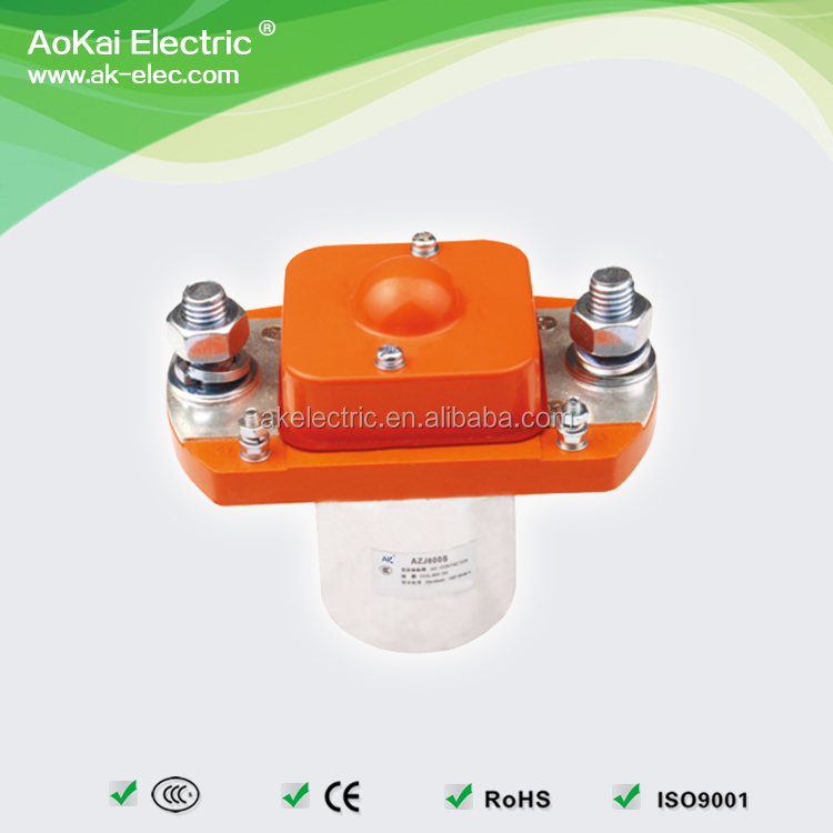 AZJ600S MZJ600D 12VDC 600A DC CONTACTOR RELAY IN FORKLIFT BADLAND WINCH ELECTRIC VEHICLES TRUCKS SHIPS AOKAI DC CONTACTOR*