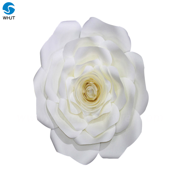 Wholesale White Gaint Paper Flower Wall Wedding Backdrop For Sale ...