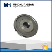 customer design forging and grinding transmission machining eccentric gear