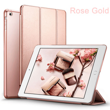 Transparent Cover PC Case for Apple iPad 7.9 inch 2017 Smart Tablet Cover
