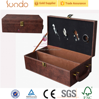 wholesale wooden wine packaging box