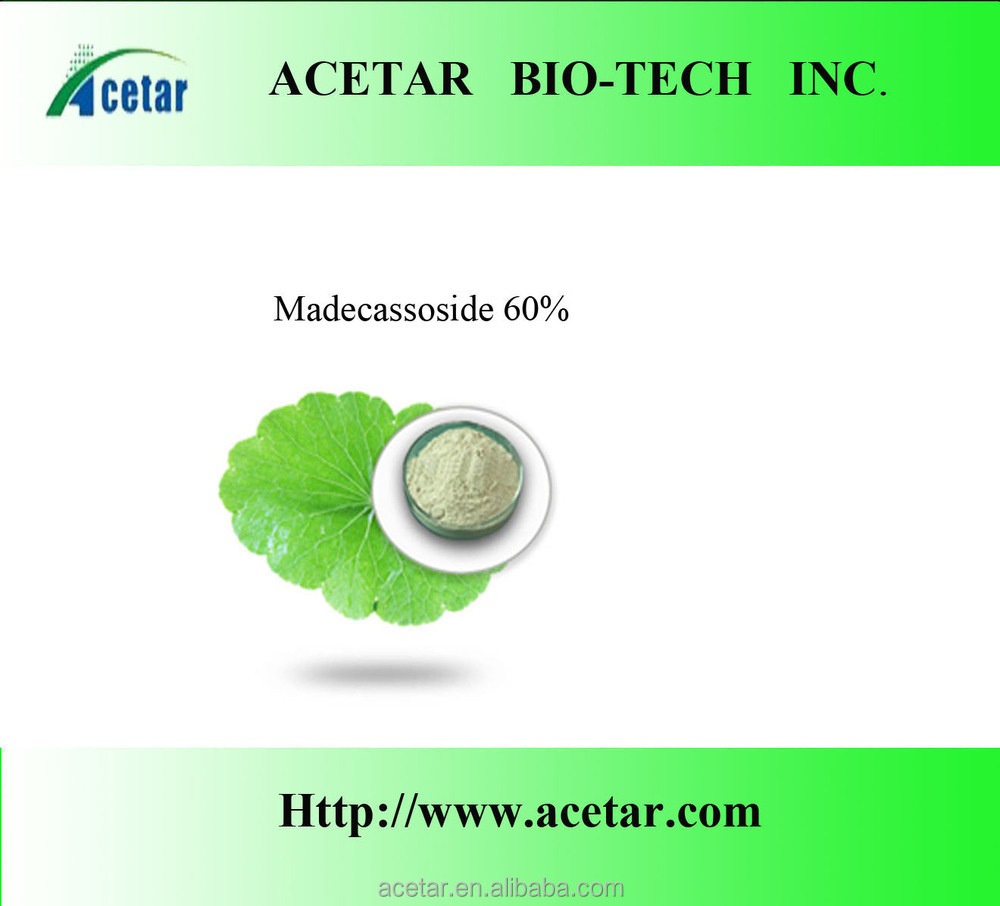 wound healing centella asiatica extract/ Asiaticosides 10% -Iso Haccp, Kosher , Halal cert. factory