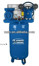 vertical tank big air compressor 100L two cylinder ac portable piston type elgi air compressorLVA-65
