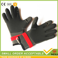 Competive Price Neoprene Fishing Gloves