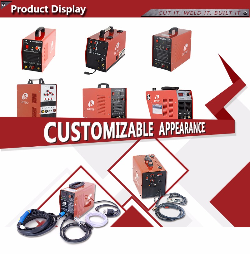 Lotos CT520D MINI AC DC inverter 220 V High Frequency Portable arc welder welding machine
