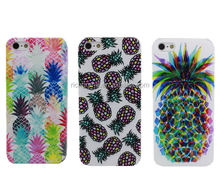 2016 NEW NOVELTY Fruit Pineapple Transparent Case Cover For iPhone 4 4S 5 5S 5C 6 6 plus 6S