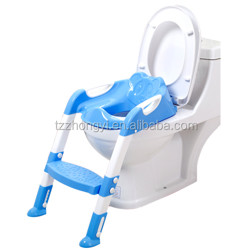 Adjustable color baby toilet trainer