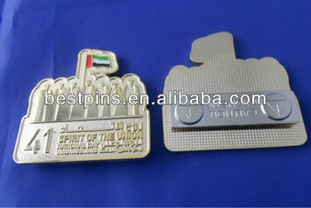 custom UAE souvenir name badges