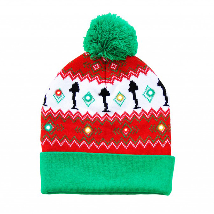 Latest Design Led Unisex Moving Christmas Hat