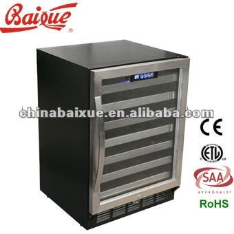 TOUCH SCREEN CONTROL Compressor Wine cooler WC52, cold storage, refrigerator, deepfreeze for Red wine raki sherry and Champagne