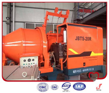 concrete pump used for transferring liquid concrete by pumping
