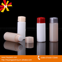 Plastic cosmetic lotion sample bottle product packaging manufacturer