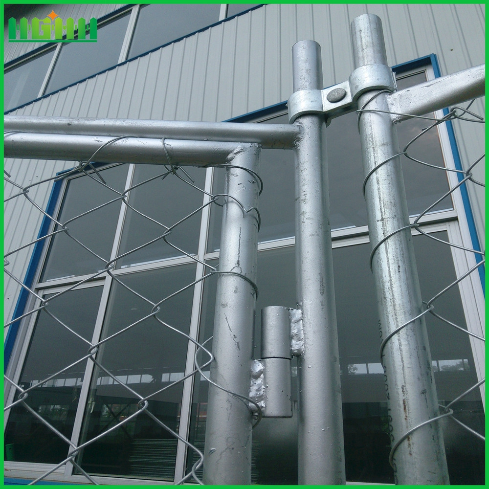 portable chain link fence panel