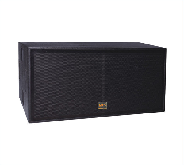 dual 18 inch 1200W RMS 4ohm RCF LF unit subwoofer