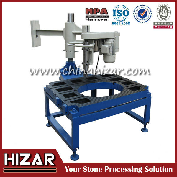 H-HP-580 Inside & Outside Curved stone cutting table saw machine, granite cutting table saw