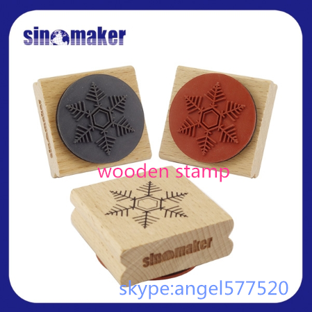 2016 best selling wooden stamp/Self-inking Stamp Printer sinomaker