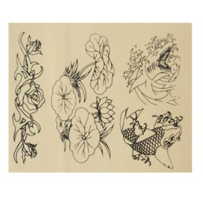 tattoo practice skin with flower design for body tattoo buy tattoo practice skin practice skin. Black Bedroom Furniture Sets. Home Design Ideas