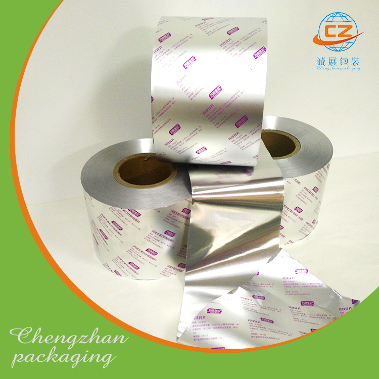 Tablet packaging aluminum foil ptp pharmaceutical protecting and sealing lacquer