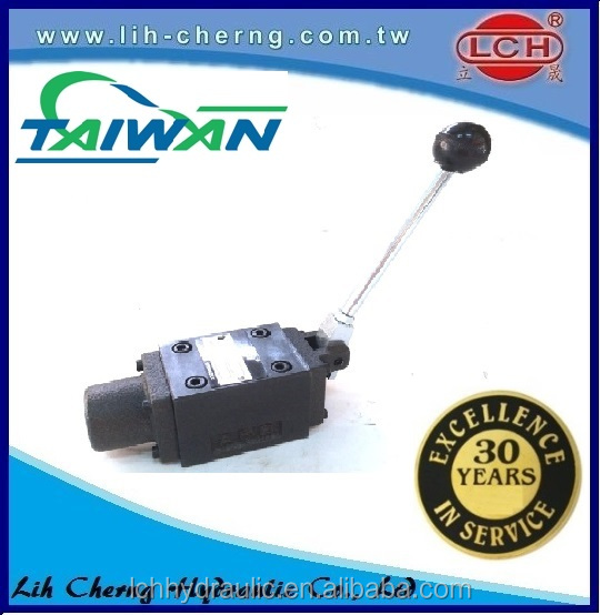 YUKEN DMT/G-03 manually hydraulic operated directional control valve