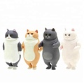 Wholesaler PVC Vinyl Rubber Plastic Cat Animal Toy For Kids