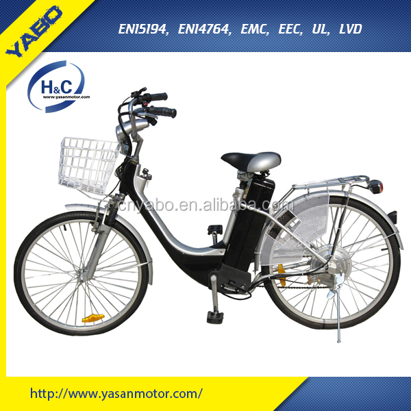 700C 36V 10Ah Cheap Lead Acid Electric Bike with Rear Box for Sale