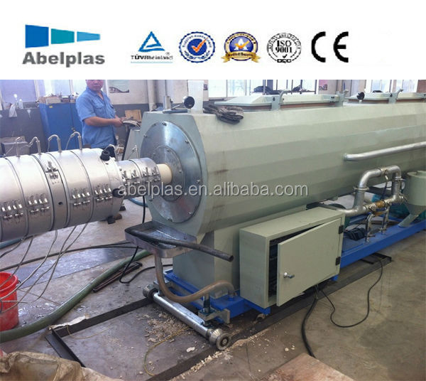 PVC pipe extrusion line, plastic pipe extrusion line, pvc pipe production plant