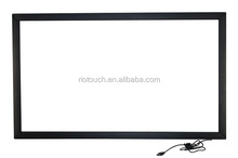 large size IR multi touch screen frame for led touch screen monitor tv