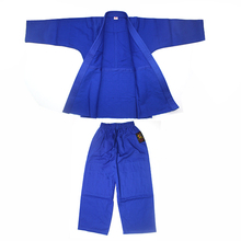 Martial art equipment blue bamboo fabric judo gi sale