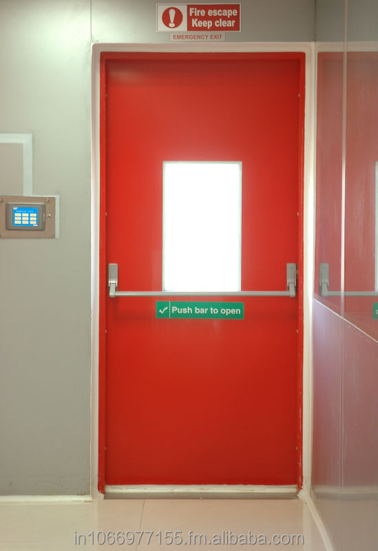 Fire rated doors certified by UL, USA