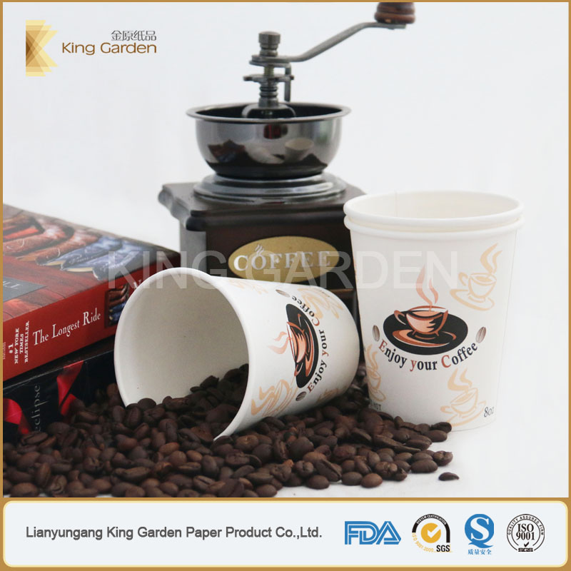 Enjoy to go paper cup with lid provide premium buyer