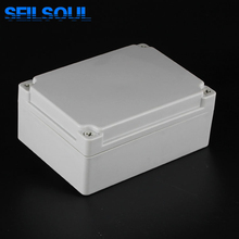 Factory Supplied Amply High Quality Cases, 175x125x75mm Plastic Screws Industrial Control Enclosure Electronic Junction Boxes