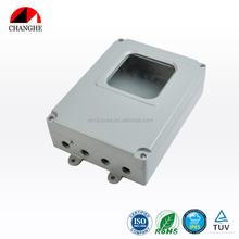 CHANGHE IP65 Electrical Junction Box Die Cast Hinged Aluminum Enclosure 216x164x66mm