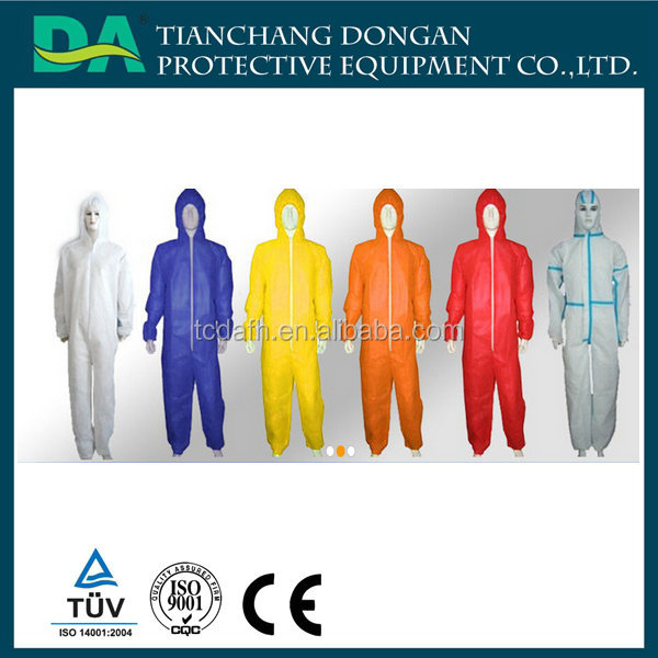 Anti static Chemical/Industry/Medical Protection Jumpsuit