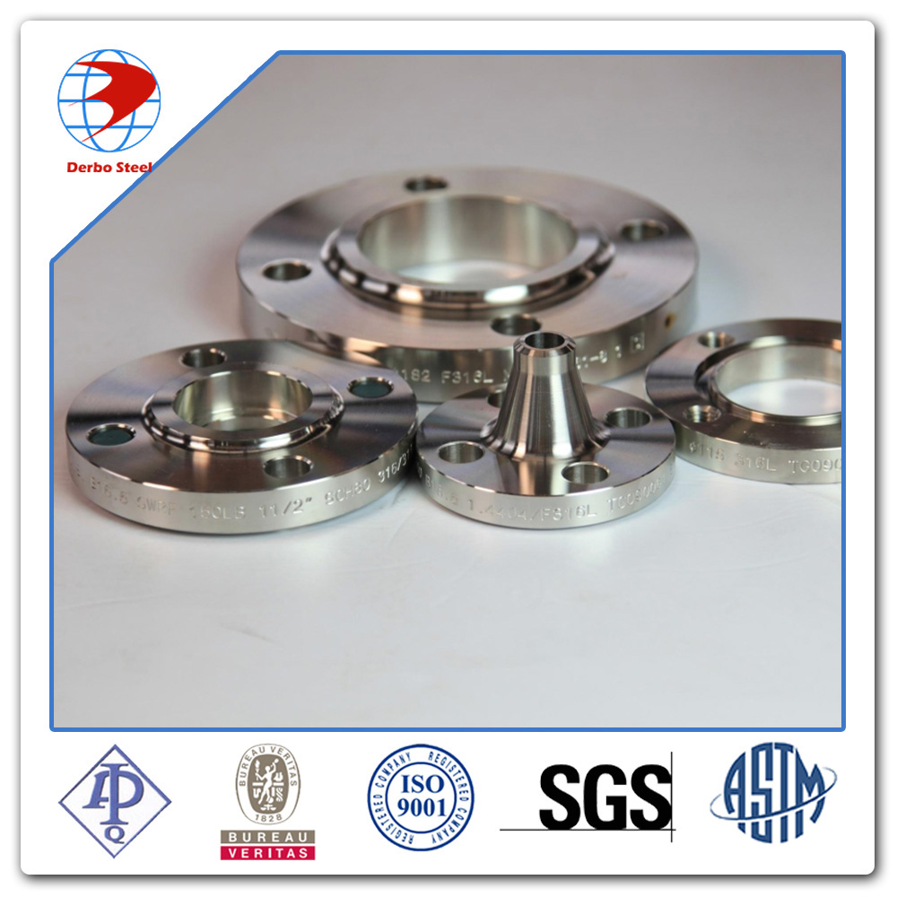 ansi b16.5 4 inch RF Class 300 ASTM A105 Weld Neck Flange