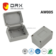 Die cast waterproof explosion proof aluminum junction box with sand blast