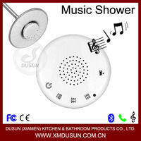 screen touch, waterproof wireless bluetooth stereo speaker telephone led music head shower head