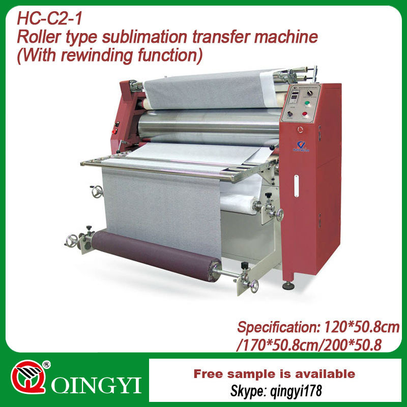 roller sublimation heat transfer machine