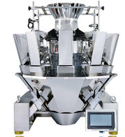 automatic PLC Multihead weigher Packing Machine for Peanuts