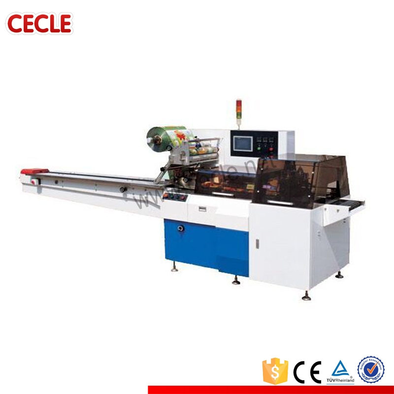 CE approved spare parts horizontal packing machine