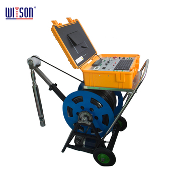 Witson Deep Underwater Borehole Inspection Camera System with 500M cable