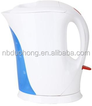 Kitchen Appliances 1.7L cordled electric plastic jug kettle