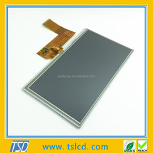 7'' wvga 800x480 tft lcd display panl with touch screen