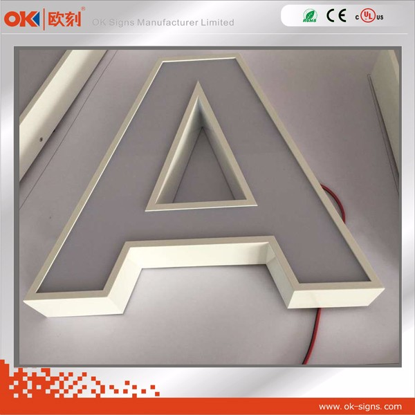 indoor led sign with alphabet letter/led sign board/car electronic signs