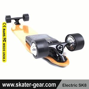 SKATERGEAR direct drive motor with remote control electric longboard skateboard