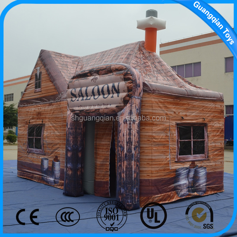 GuangQian 2016 Hot Sale Big Discount Inflatable Advertising Tent House
