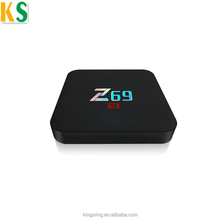 OEM Smart TV Box Z69 2.4G WiFi Support BT4.0 Amlogic S905X Android 6.0 TV Box Z69 2GB RAM 16GB ROM ip tv box