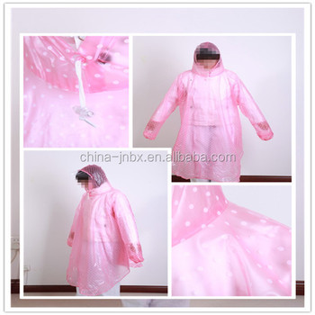 Waterproof Foldable Rain Poncho For Motorcycle