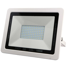 2017 New Product 100W LED Floodlight AC220-240V Ultra-thin No Driver Work White Black CE Approved